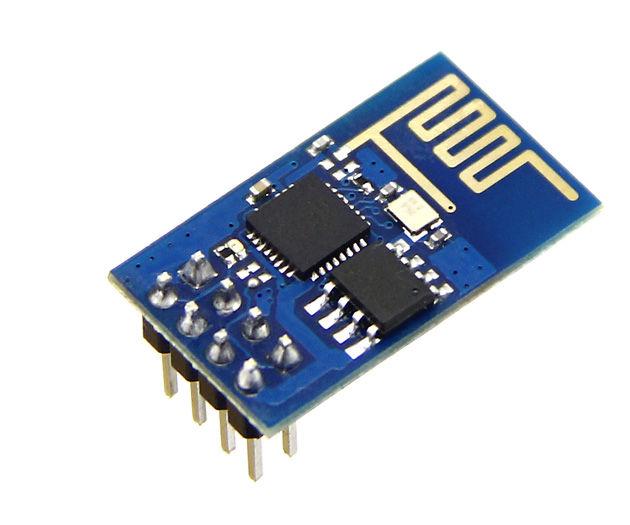 ESP8266 WiFi temperature and humidity sensor