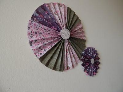 Pinwheel Wall Decor