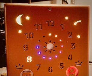 The Kid Clock / Une Horloge Pour Les Petits (Bilingue)
