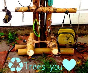 Tree Recycling: Knick Knack Rack