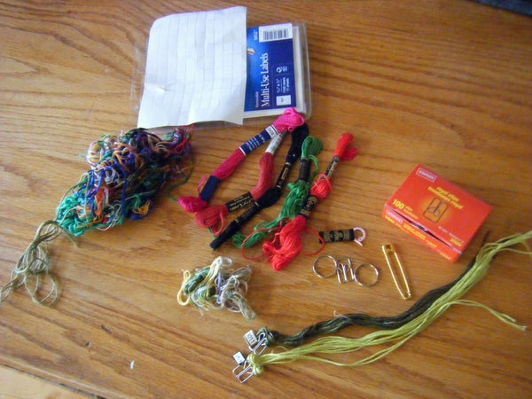 Organize Your Embroidery Floss (first Steps)