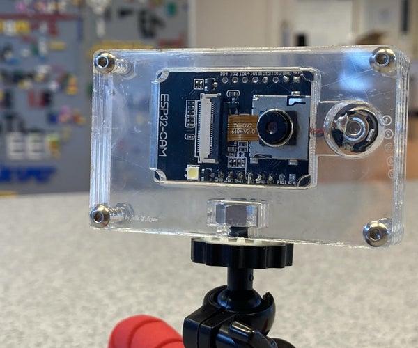 ESP32 Cam Laser Cut Acrylic Enclosure
