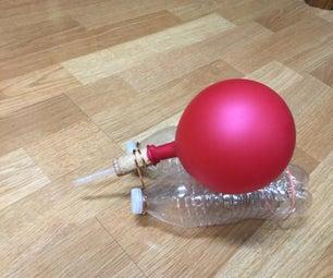 冒泡气球船