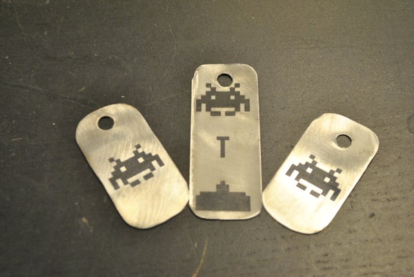 Scrap Metal and Lasers: Cermark'd Keychains