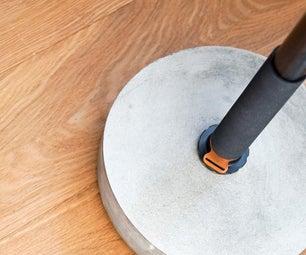 DIY Monopod Stand |节省空间的解决方案|混凝土工艺