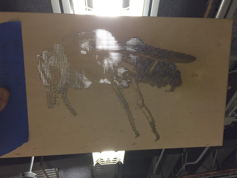 """Bee"" Light Panel Series # 1"