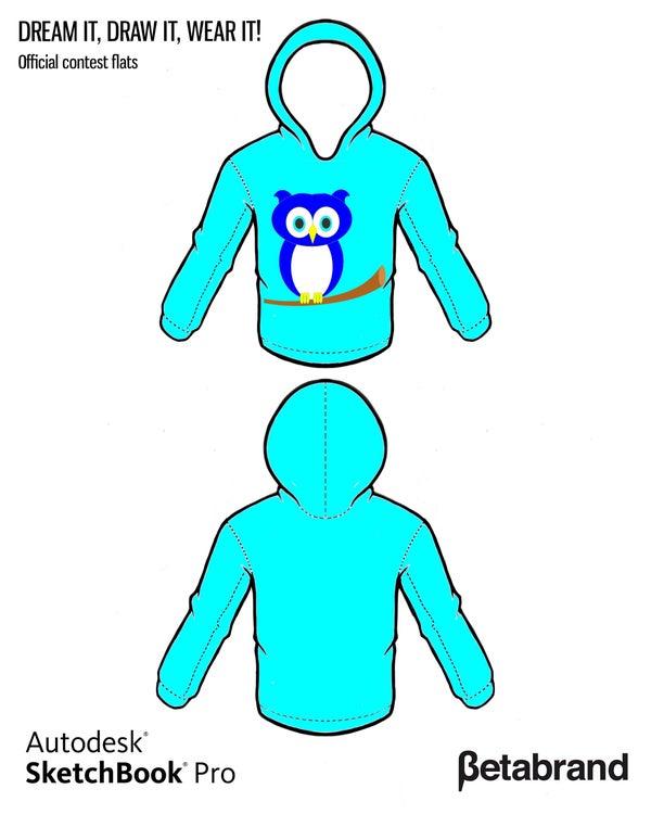 Design an Owl Hoodie