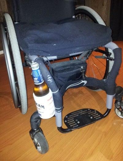Wheelchair Drink/Can/Bottle Holder
