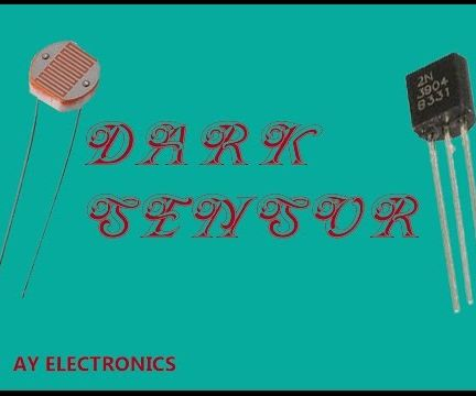 Dark Sensor(LDR-Transistor circuit/Automatic light)||EXPLAINED IN DETAILS {EASY!!}