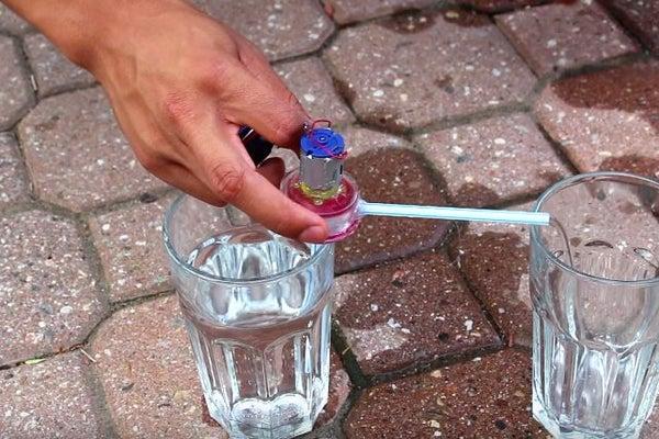 نحوه ساخت مینی پمپ آب