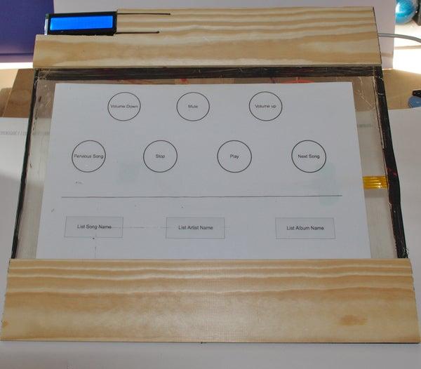 Arduino Touch Screen ITunes Control (ATSIC)