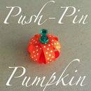 Push-Pin Pumpkin