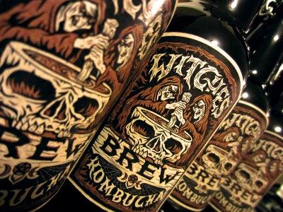 Witches' Brew Black Licorice Kombucha