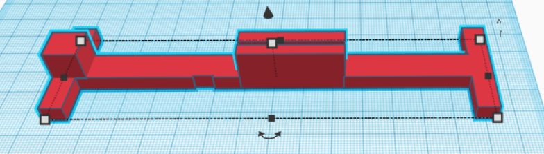 Y Axis Holder.