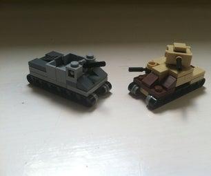 Mini Lego Tanks!