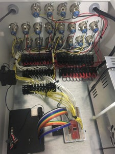 Connecting Pads to the Control Panel and Power Supply