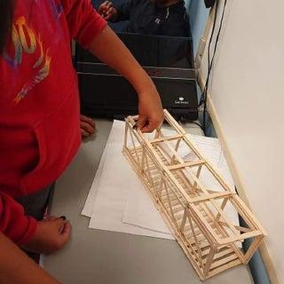 Popsicle Stick Bridge