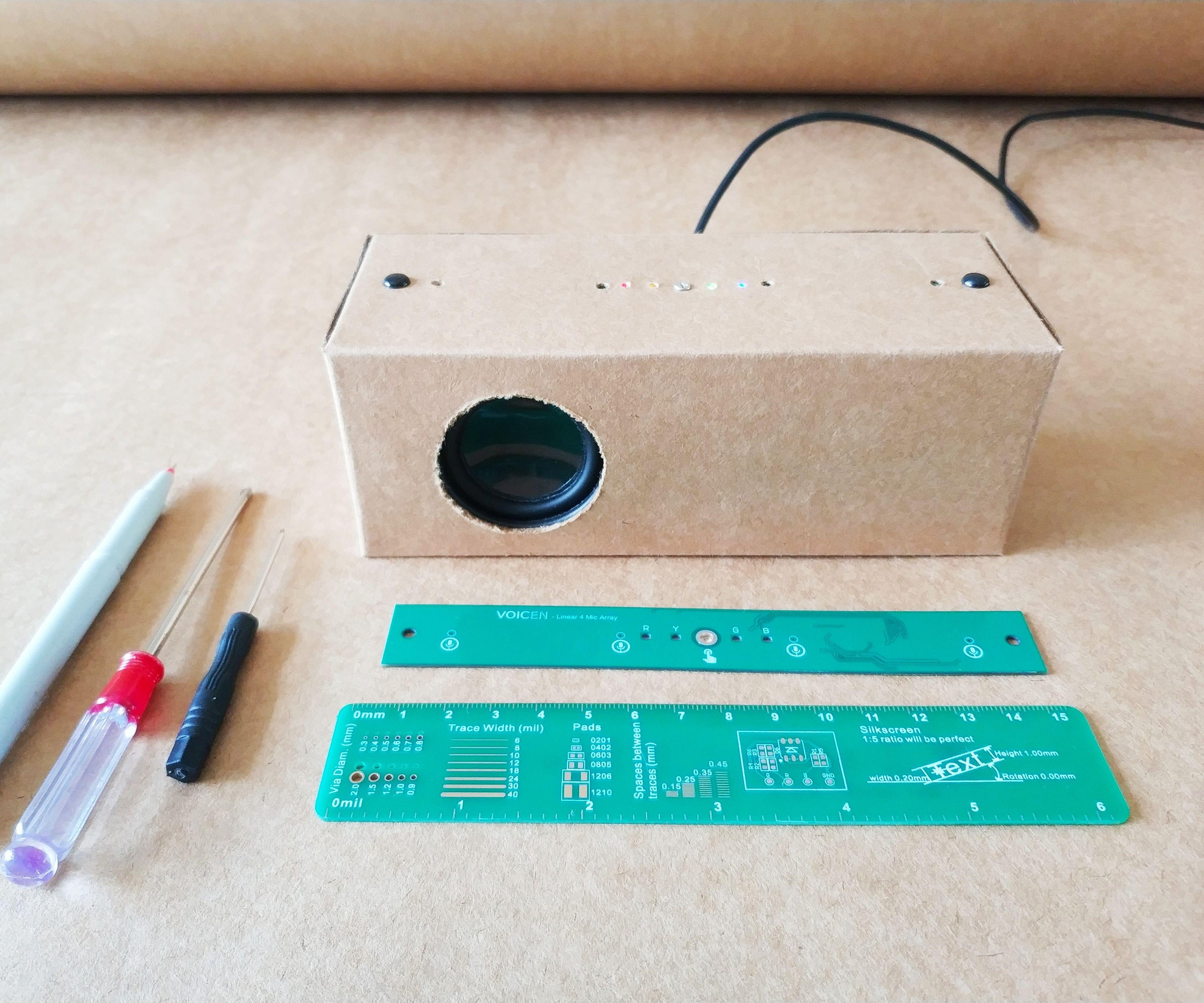 Make a Speaker Smart Paper Case by Hand