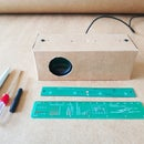 Make a Speaker Smart Paper Case by Hand