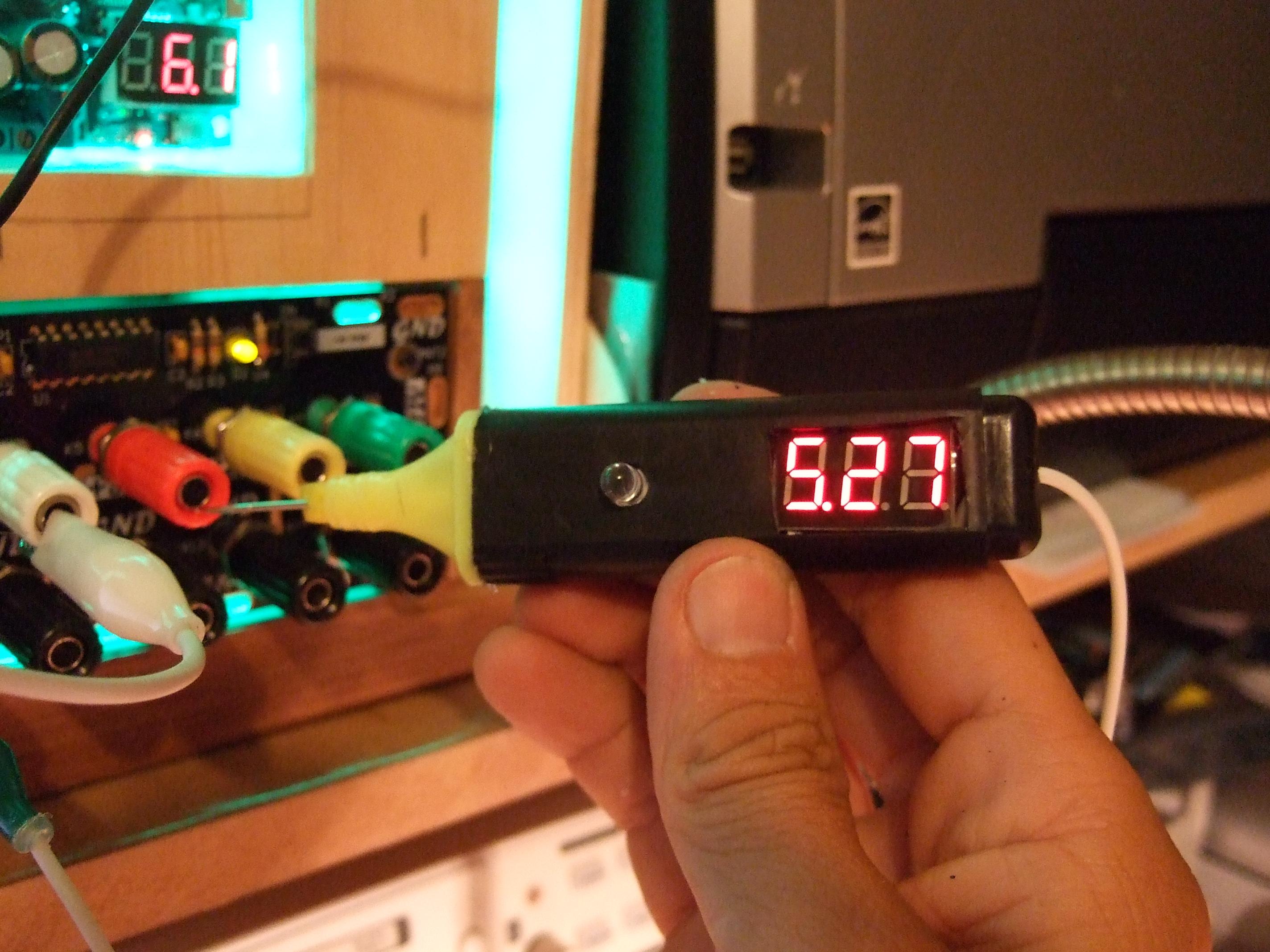 From Hi - Lighter To Volt Meter