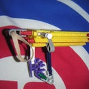Most simplest er knex gun ever ! pocket size !