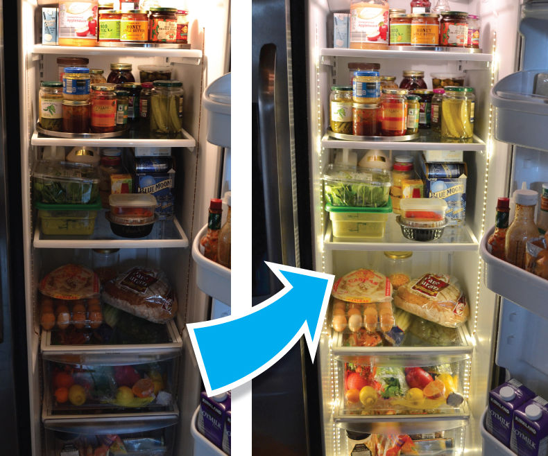 Upgrade Your Refrigerator Lighting