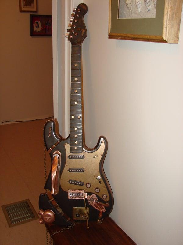 Steampunk Guitar