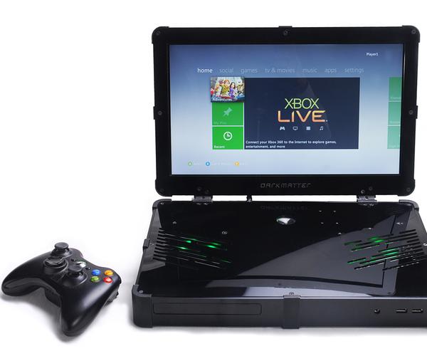 Build an Arduino-powered, Laser-cut Xbox 360 Laptop