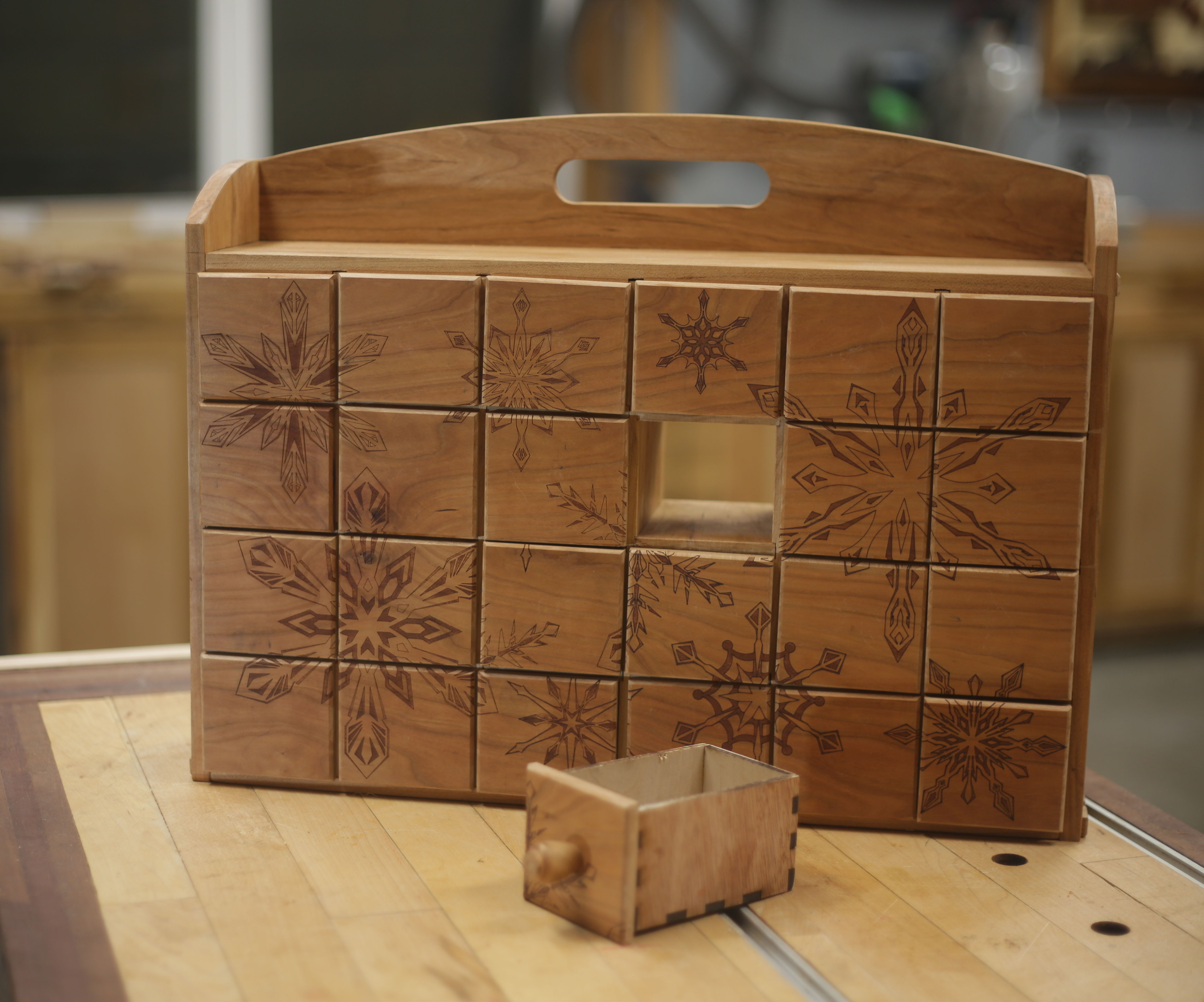 Advent Calendar / Apothecary Cabinet