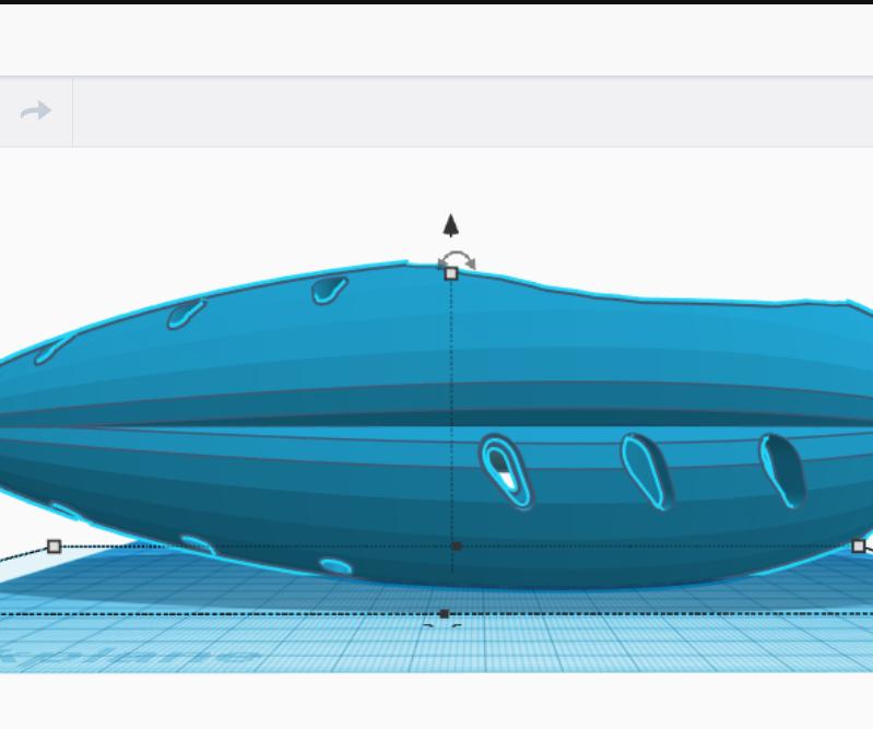 Sentient Spacecraft Alexa Echo Dot Enclosure Using Tinkercad