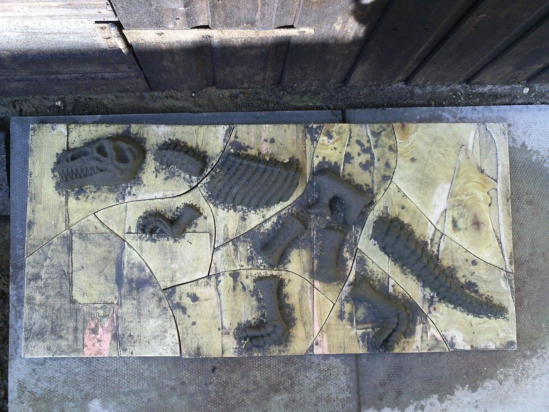 Fossil Jigsaw Ready to Go!