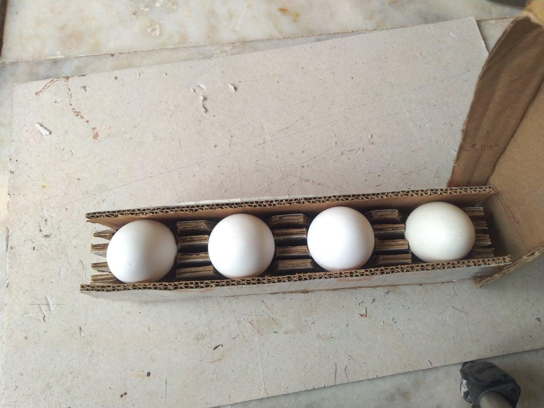 Making of Egg Holder Tray Using Cardboard