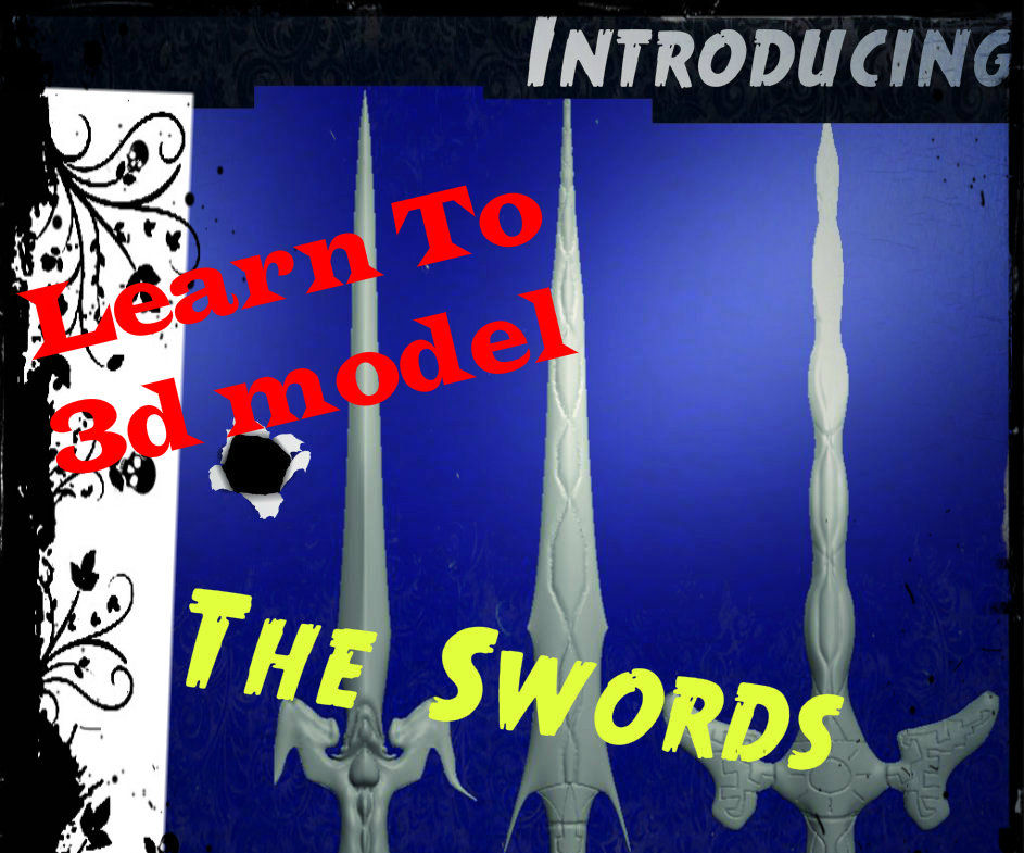 3d Modeling Swords