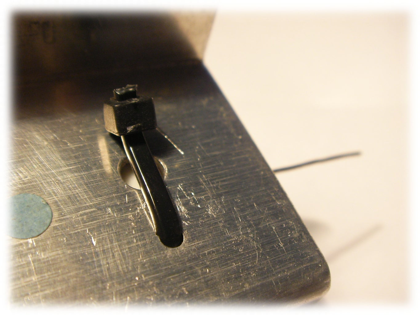 Fitting the Wirewound Resistor