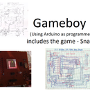 Handheld Gameboy - Using Arduino (with Snake Game)