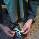 Shoelace Butterfly Bow (How to keep your laces from comeing untied)