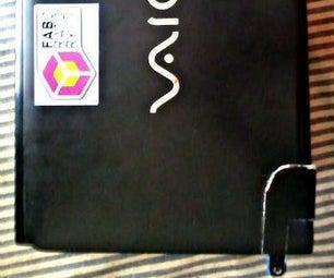Simple Fix for Vaio Laptop Hinge