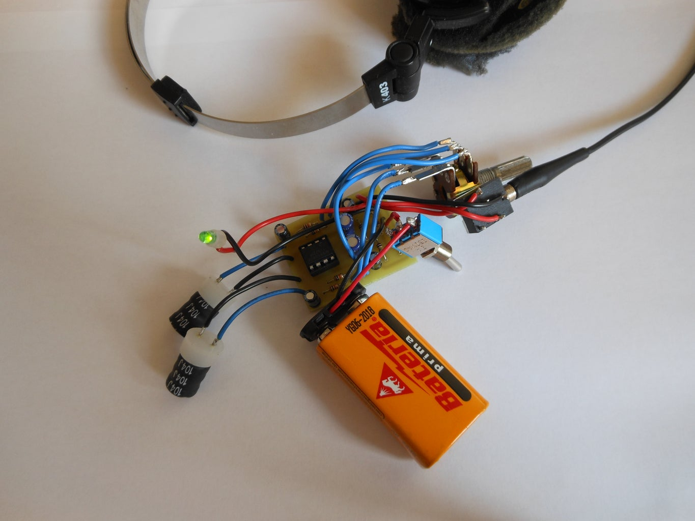 Soldering, Wiring and Testing the Circuit