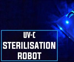 UV-C灭菌机器人