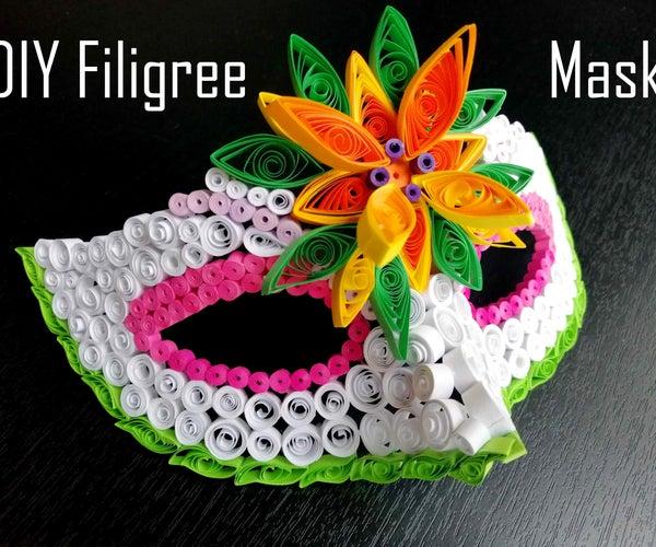 DIY Filigree Mask