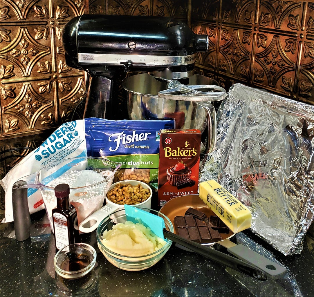 Ingredients for the Fudge
