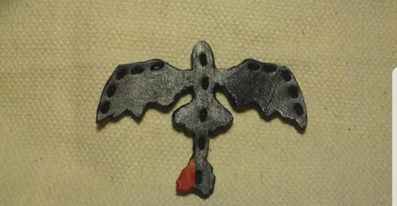 Toothless the Dragon Leather Patch