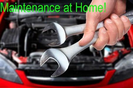 Car Maintenance at Home!