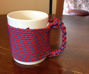 Paracord Mug Handle.