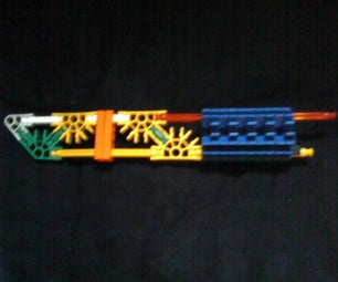My Simple Knex Tactical Knife