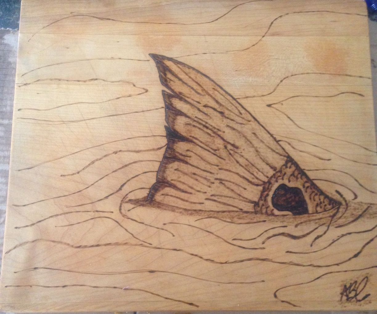 Pyrography Wood Burning: Fish