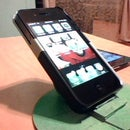 Homemade iPhone/iPod,The Comfy Stand