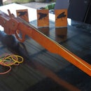 Rubber Band Gun Toy (Pine ply board)