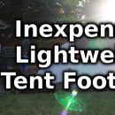 DIY Inexpensive Lightweight Tent Footprint
