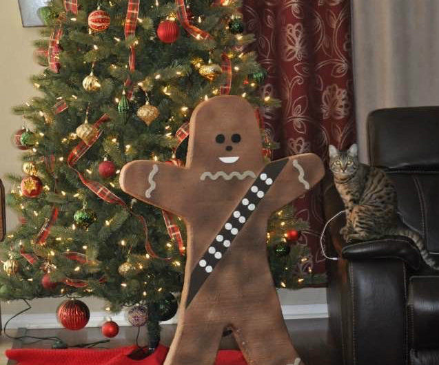 Gingerbread Chewy Decoration